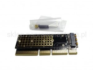adapter M Key NVMe NGFF PCIE 3.0 X16 1U SERVER