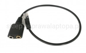 adapter dual słuchawki mikrofon 3.5mm do RJ9 CISCO