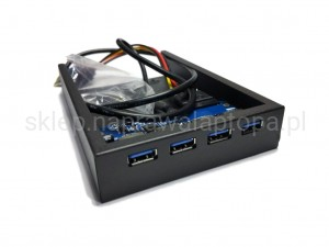 4 PORTY USB 3.0 ZAMIAST FLOPPY w PC - PCI-Express X1 X4 X8 X16 USB3.1