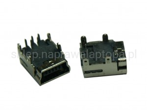 GNIAZDO MINI USB 5PIN DO KONTROLERA PS3 GAMEPAD